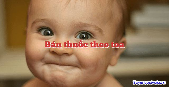 Bán thuốc theo toa