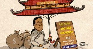 chua ba vang 310x165 - Three Golden Pagoda
